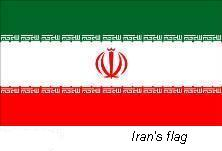 "The Iranian flag is a symbol of God. It has ""God is great"" in Arabic 11 times on both the green and red stripes."