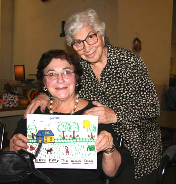 Photo of two sisters who participated in Seniors for Change Program