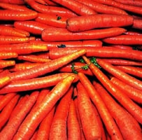 Photo of pile of carrots, a healthy food