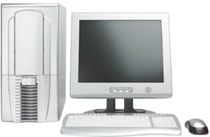 Photo of a computer